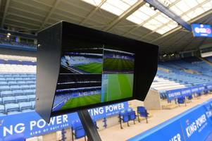 Leicester City's Premier League games to include VAR from next season