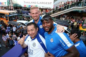 wes morgan reveals special relationship between leicester city players and khun vichai