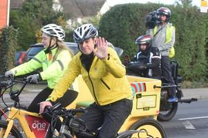 the one show presenter matt baker has this to say after his rickshaw challenge in gloucestershire
