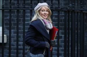 esther mcvey sensationally quits as work and pensions secretary in further blow to theresa may