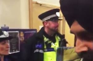 Watch: West Midlands Police officers 'kicked out of Sikh temple as they try to recruit worshippers'