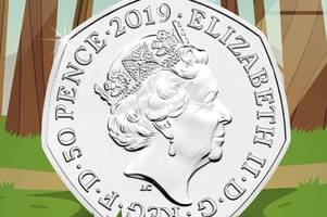 50p showing popular children's book character set to be issued in 2019