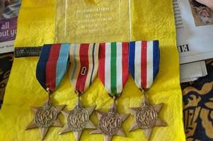 'Heartless thieves' rob Second World War hero's medals a week after his death
