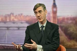 jacob rees-mogg confronts theresa may over her leadership during brexit plan questions