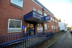 town's police station will be shut and sold (and cops are moving in with firefighters!)