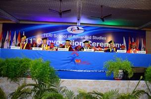 teri school of advanced studies hosts its 11th convocation