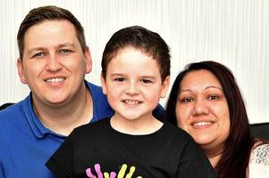 dumbarton youngster raises vital cash for kids to thank charity