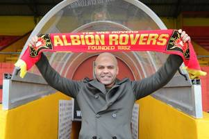 new albion rovers manager to draw on experiences working and playing with football's big names