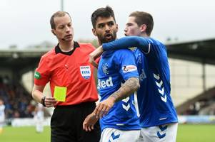 Rangers considering options over Daniel Candeias red card after being unimpressed by Willie Collum explanation