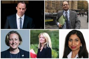 The Brexit deal resignation letters: Why Dominic Raab, Esther McVey and three junior ministers said they were quitting