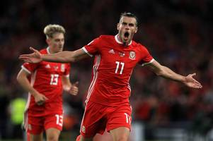 wales handed huge gareth bale boost as ryan giggs delivers full injury update ahead of denmark nations league clash