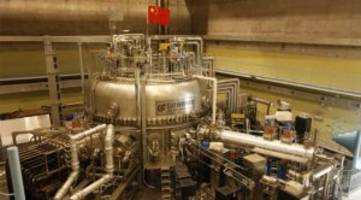 Chinese Fusion Reactor Gets 6 Times Hotter Than the Sun