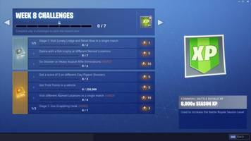 Fortnite Challenge Guide (Week 8): Dance With Fish Trophy, Shoot Clay Pigeons, Trick Points, And More