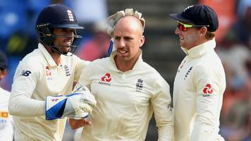 England have great chance of victory - Leach
