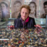buttons in memorial art installation a poignant symbol of children lost in the holocaust