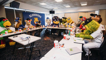 mlb's mascot conference is actually very serious business