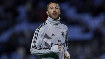 sergio ramos claims critics 'won't drag me down' after being whistled at by real madrid fans