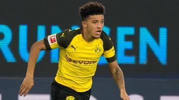 Jadon Sancho: England star is Bundesliga player of the month for October