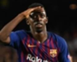 barcelona claim no liverpool offer for dembele as they stand by troubled winger