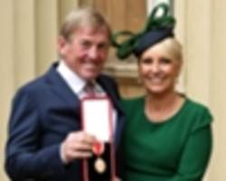 kenny dalglish and jermain defoe express delight after being honoured at buckingham palace