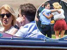 i'm a celebrity: holly willoughby and declan donnelly  are seen filming for the first time