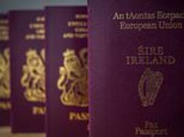 Ireland will become a gateway to the UK under Brexit deal with no passport checks