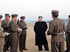 Kim Jong-un oversees test of a new 'ultramodern tactical weapon'