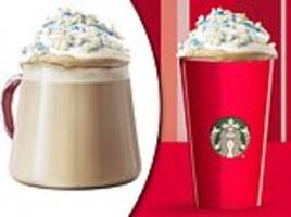 Starbucks is selling a 'snowy CHEESE' latte in China