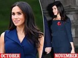 how meghan had a 'secret' haircut to thin out her hair as it gets thicker during pregnancy