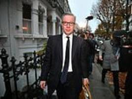 Michael Gove decides to stay in the Cabinet