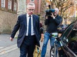 michael gove 'refused may's offer to be brexit secretary unless he can renegotiate the deal'