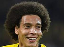 Axel Witsel raves about life at Bundesliga high-flyers Borussia Dortmund
