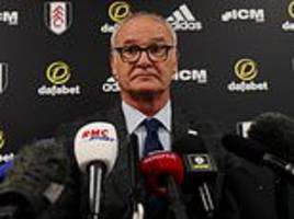 claudio ranieri vows to shore up league's leakiest defence at fulham