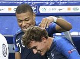 france coach deschamps rubbishes claims of rivalry between mbappe and griezmann