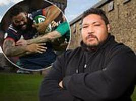 how does 24-stone ben tameifuna compare to biggest rugby players ever?