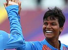 india women reach world t20 semi-finals after 52-run victory over ireland