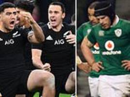 Ireland face the All Blacks in potential dress rehearsal for World Cup final… so who will triumph?