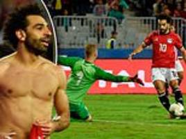 mohamed salah scores last-gasp winner against tunisia in african cup of nations qualifying