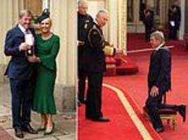 sir kenny dalglish receives knighthood from prince charles