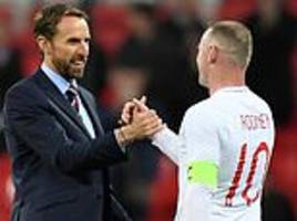 Wayne Rooney praised by England manager Gareth Southgate
