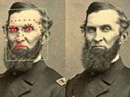 The facial recognition software that could identify thousands of faces in Civil War photographs