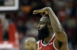 harden scores 27 as rockets rout warriors 107-86