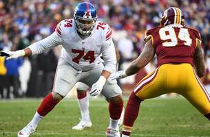 Recently signed Ereck Flowers to become fourth left tackle to start for Jaguars this season