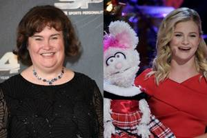 'america's got talent: the champions' books susan boyle, darci lynne farmer, and 23 other competitors