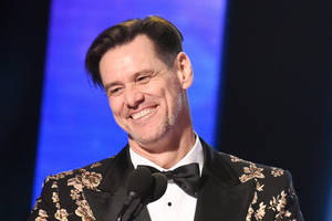 jim carrey goes doggy-style on trump and jim mattis in latest artwork