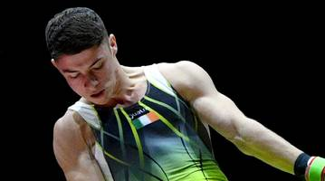 rhys mcclenaghan: injured gymnast to miss german world cup event