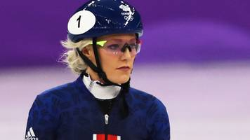 elise christie: british speed skater considered quitting after winter olympic heartbreak