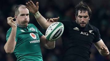 Ireland v New Zealand: How All Blacks have shaped Ireland's rugby rise