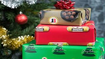 jimmy dean is giving away 'sausage-scented' holiday wrapping paper
