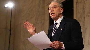 sen. grassley paves way for sen. graham to lead judiciary panel